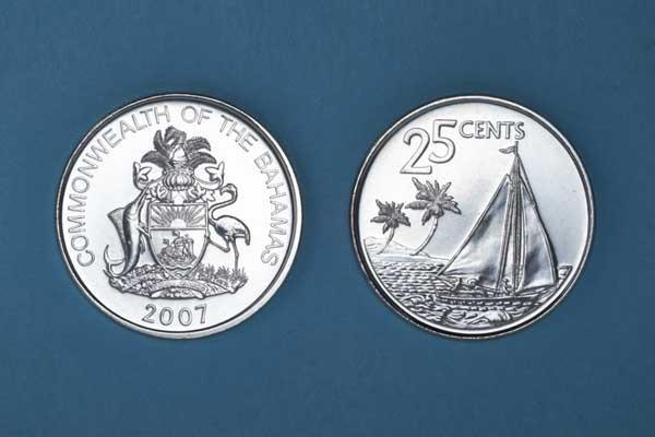 Twenty-five Cent Coin
